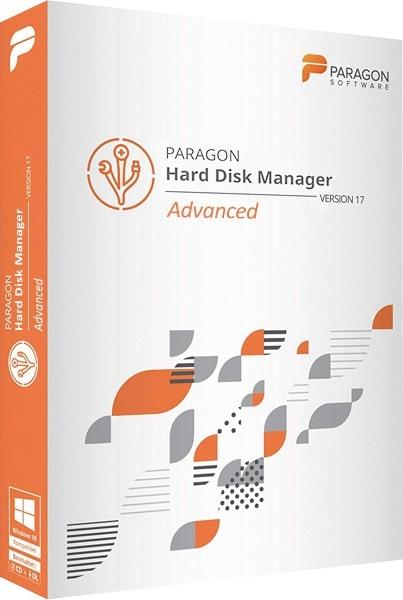اسطوانة إدارة وتقسيم الهارديسك 2019   Paragon Hard Disk Manager 17.4.0 WinPE