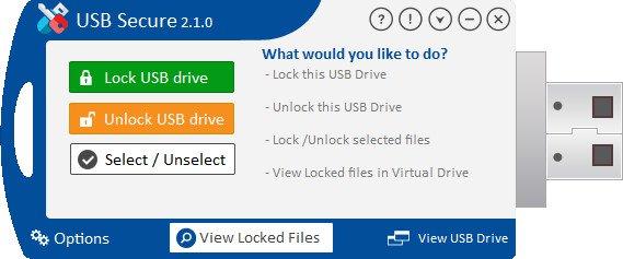 برنامج حماية وتشفير الفلاشات   USB Secure 2.1.6