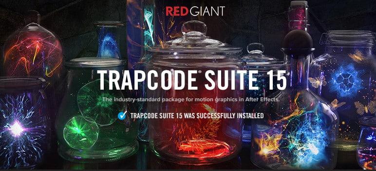 فلاتر ترابكود كاملة | Red Giant Trapcode Suite