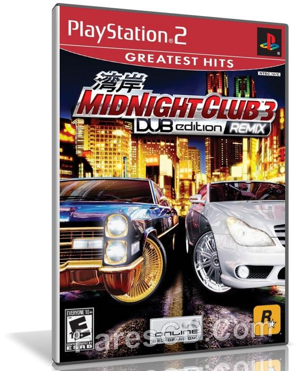 تحميل لعبة midnight club 3 ps2