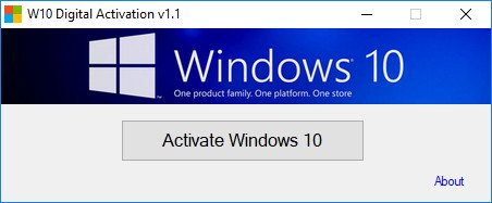 أداة تفعيل ويندوز 10 | Windows 10 Digital Activation Program By Ratiborus