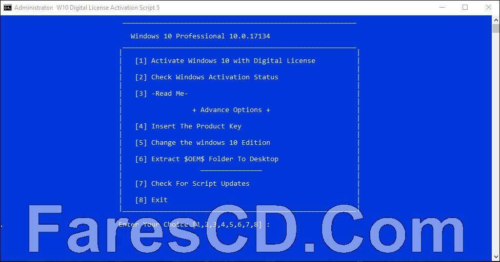 أداة تفعيل ويندوز 10 | Windows 10 Digital License Activation