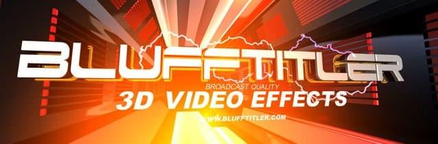 برنامج تصميم النصوص المتحركة | BluffTitler Ultimate Multilingual