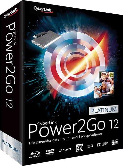 عملاق حرق ونسخ الملفات   CyberLink Power2Go Platinu