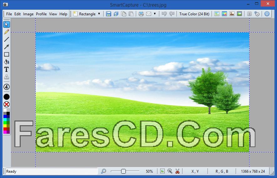 أسهل برنامج لتصوير الشاشة   SmartCapture