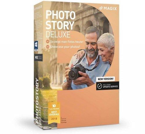 برنامج عمل الألبومات وتحرير الصور | MAGIX Photostory Deluxe 2019