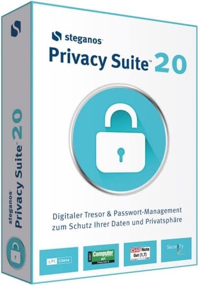 البرنامج الشامل لتأمين وتشفير الملفات | Steganos Privacy Suite