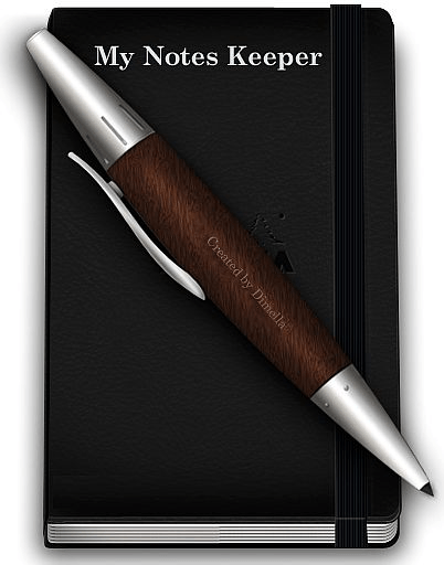 برنامج تدوين الملاحظات My Notes Keeper l
