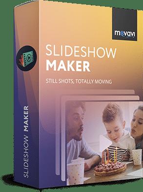 برنامج عمل سلايد شو بالصور   Movavi Slideshow Maker