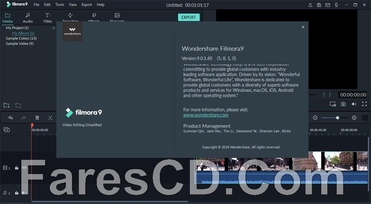 تحميل برنامج فيلمورا 2019 Wondershare Filmora