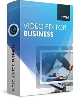 برنامج إنشاء مقاطع الفيديو | Movavi Video Editor Business .