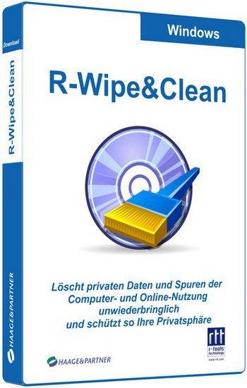 برنامج تنظيف الهارد وحفظ الخصوصية | R-Wipe & Clean