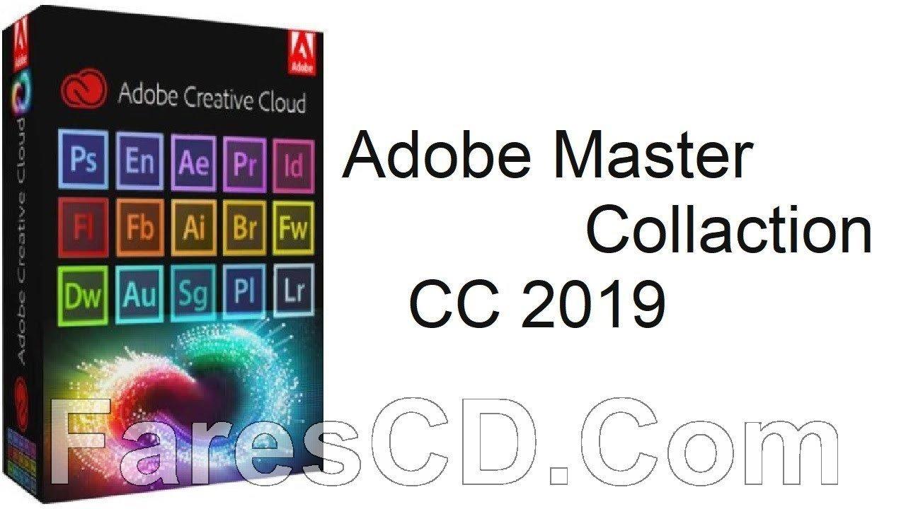 موسوعة جميع برامج أدوبى | Adobe Master Collection CC v2 2019
