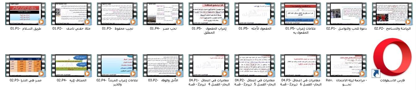 اسطوانة اللغة العربية للصف الخامس الإبتدائى | ترم ثانى 2019