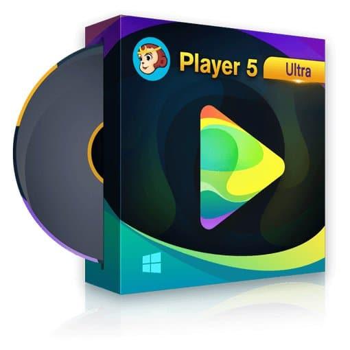 برنامج تشغيل اسطوانات الفيديو | DVDFab Player Ultra