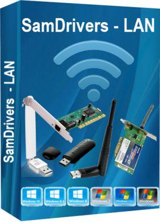 اسطوانة تعريفات كروت النت 2020 | SamDrivers LAN Multilanguage