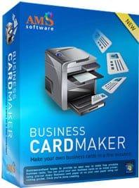 برنامج تصميم الكروت الشخصية | AMS Software Business Card Maker