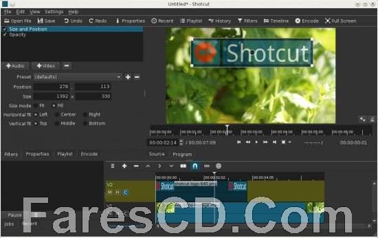 برنامج مونتاج وتحرير الفيديو البسيط | ShotCut
