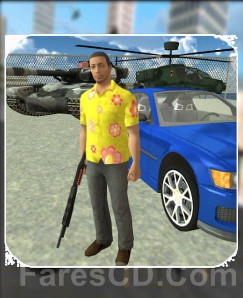 لعبة الاكشن و العصابات   REAL GANGSTER CRIME   أندرويد