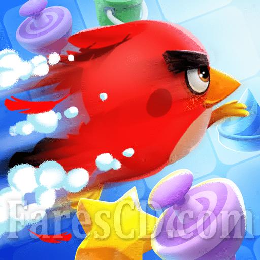 لعبة ألغاز الطيور الغاضبة | Angry Birds Match MOD v2.7.1 | أندرويد