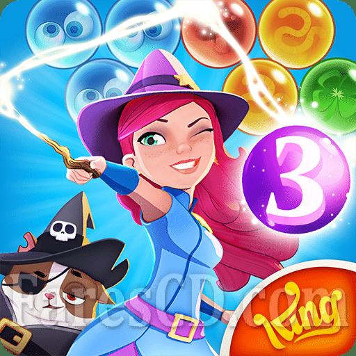 لعبة | Bubble Witch 3 Saga MOD v5.4.4 | اندرويد