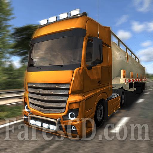 لعبة | Euro Truck Evolution (Simulator) MOD v2.5.0 | للأندرويد