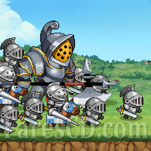 لعبة الأستراتيجية | Kingdom Wars MOD | للأندرويد