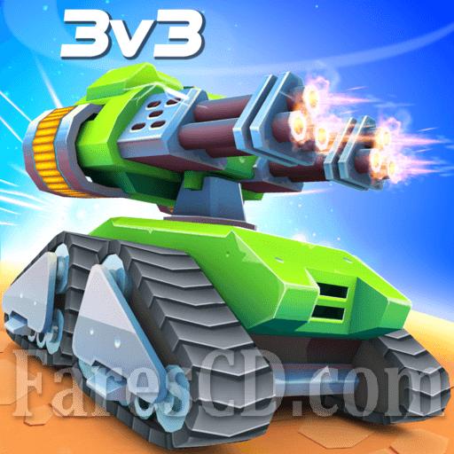 لعبة الدبابات الرائعة | Tanks A Lot! MOD v1.87 | للأندرويد
