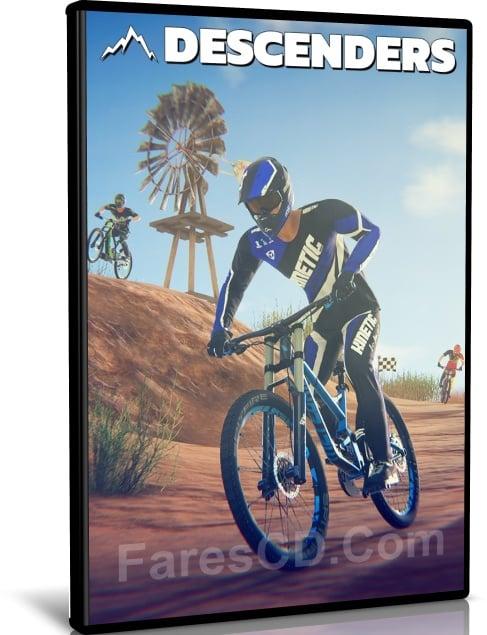 لعبة سباق الدراجات 2019 | Descenders