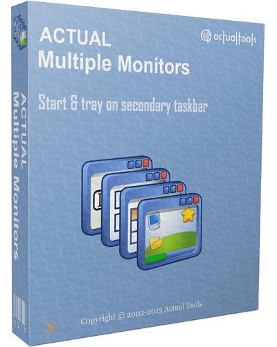 برنامج تقسيم شاشة الكومبيوتر | Actual Multiple Monitors 8.14.1