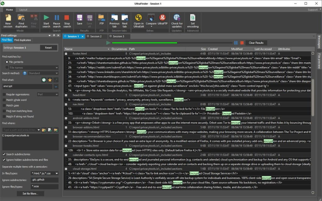 برنامج البحث الرهيب | IDM UltraFinder 19.00.0.32