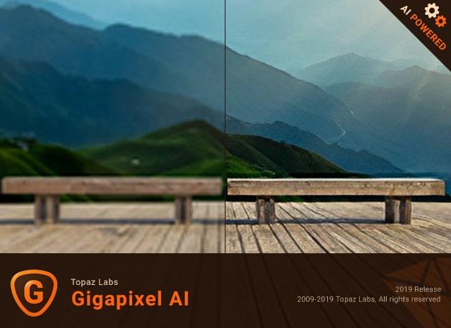 برنامج تكبير الصور الإحترافى | Topaz Gigapixel AI 4.2.1