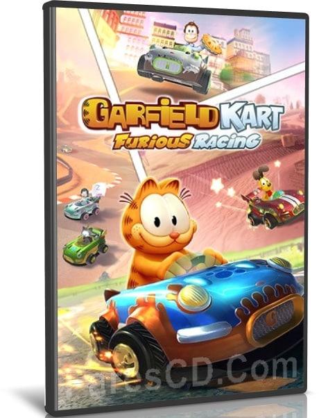 لعبة سباق السيارات | Garfield Kart Furious Racing