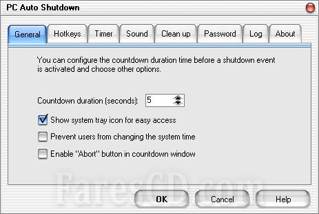 برنامج إغلاق الكومبيوتر فى وقت محدد   PC Auto Shutdown