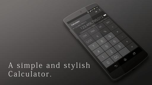 تطبيق الآلة الحاسبة العصرية | Calculator - Simple & Stylish | أندرويد
