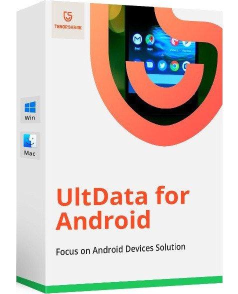 برنامج استعادة البيانات المحذوفة للأندرويد | Tenorshare UltData for Android