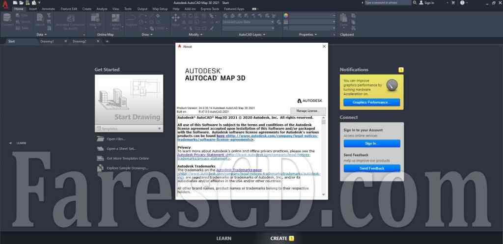 برنامج أوتوكاد ماب ثرى دى | AUTODESK AUTOCAD MAP 3D v2021