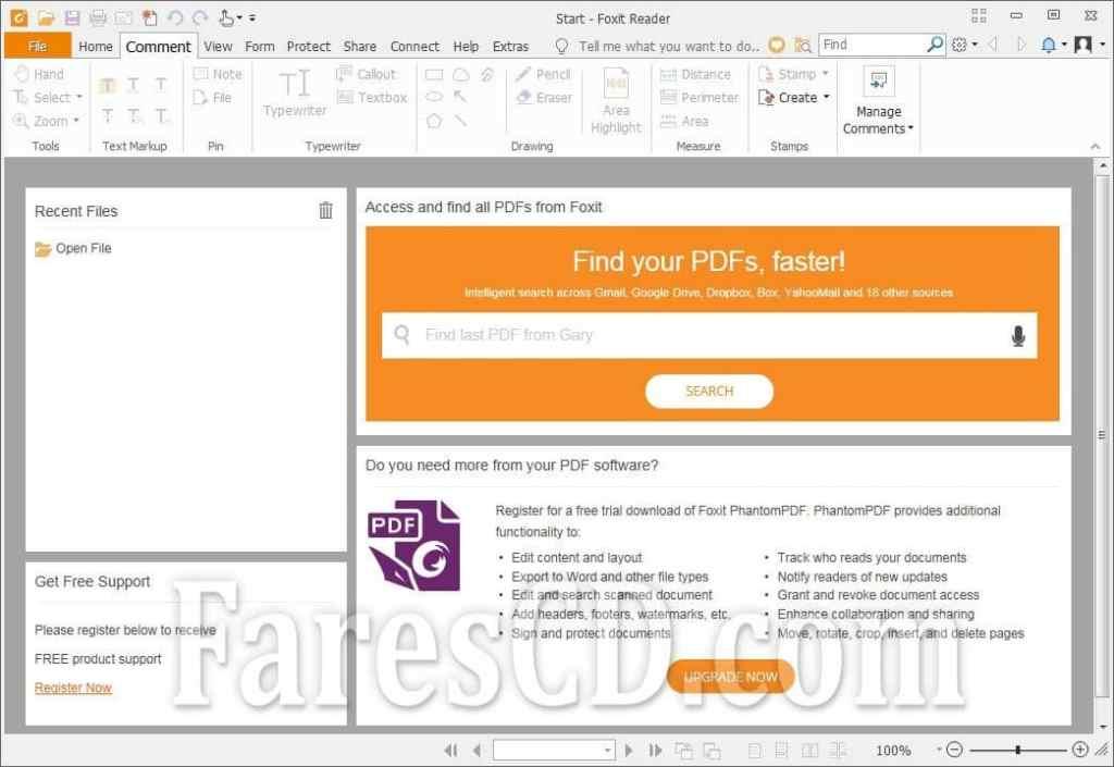 إصدار جديد من برنامج فوكسيت ريدر | Foxit Reader 10