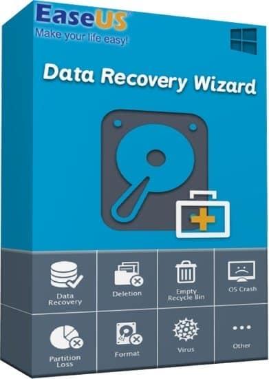 اسطوانة استعادة الملفات المحذوفة | EaseUS Data Recovery Wizard WinPE