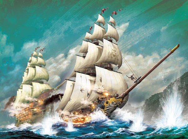 Wooden Ships Iron Men The Broken Coast Naval Warfare In The