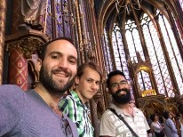 juanjo-leon-nelson-at-sainte-chapelle More pictures than in the Kunstmuseum Bern