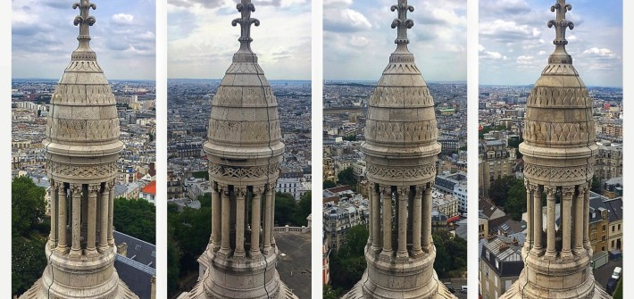 The four towers of Montmartre