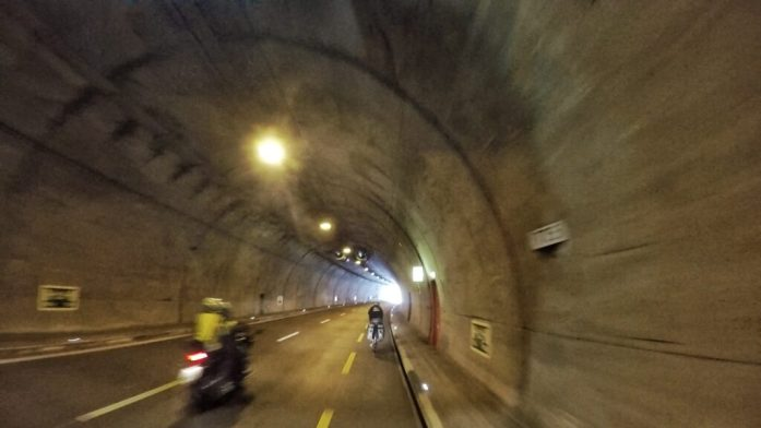tramelan-tunnel-end-1024x576 Long-term record broken – reckless cyclists cycle on
