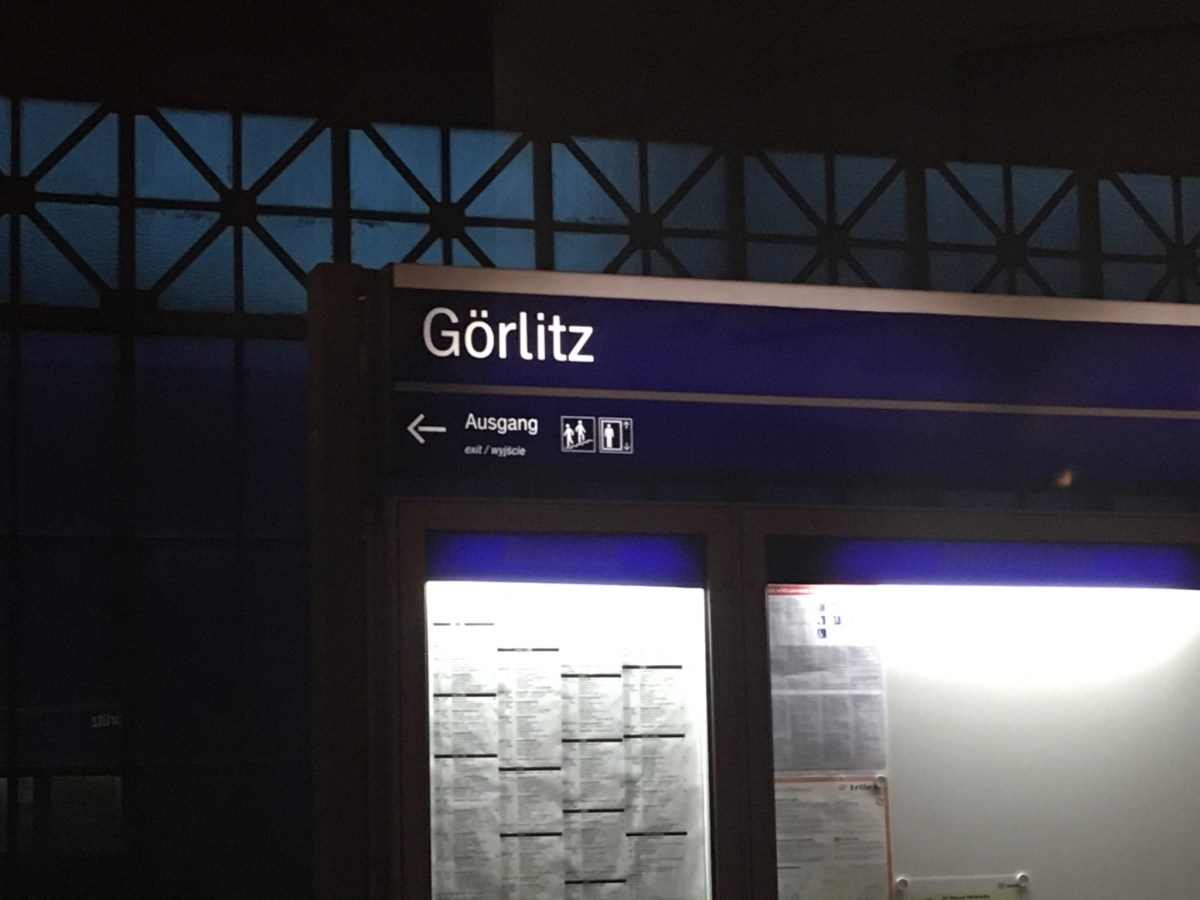 for a second, back to Gorlitz