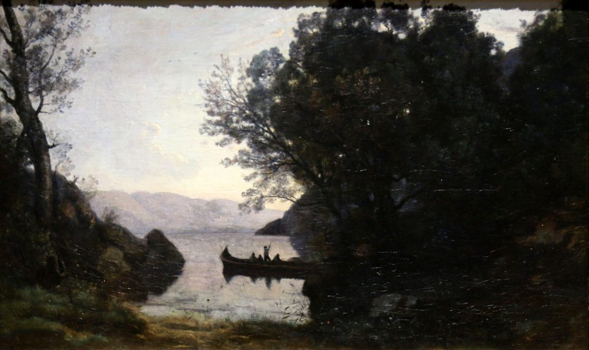 Camille Corot: View from Riva, date unknown