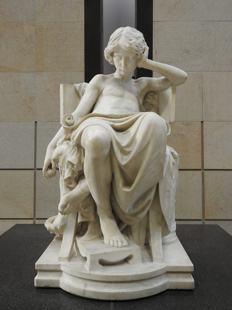 Charles Degeorge: Aristotle's Youth, 1875