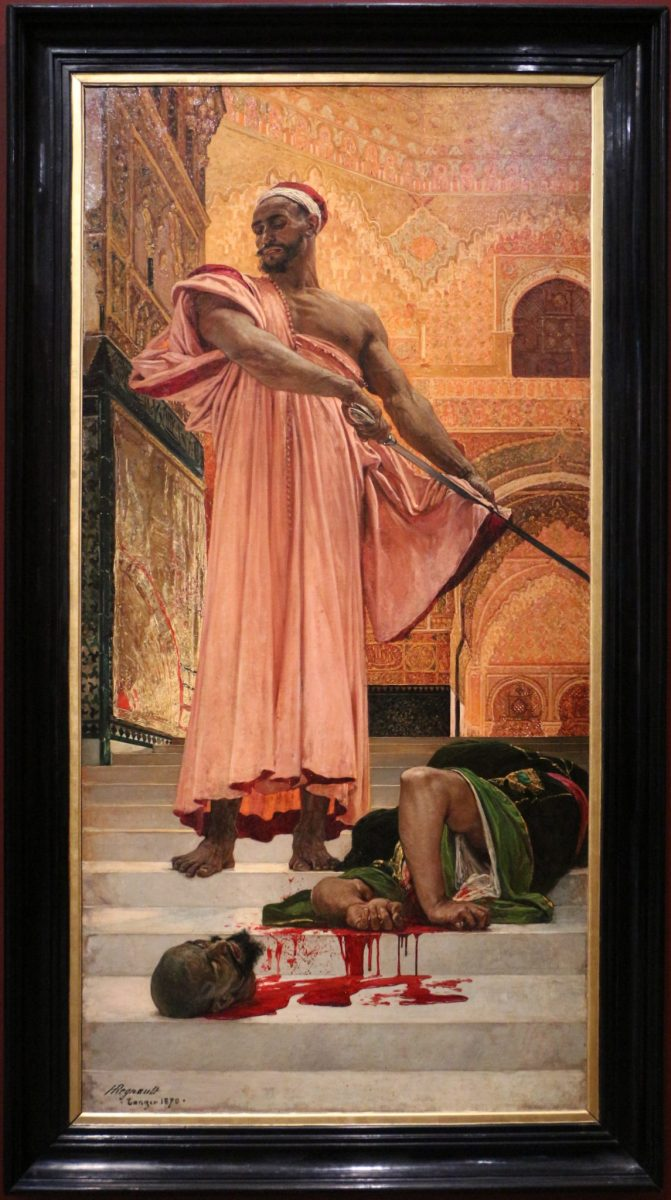 Henri Regnault: Execution without trial under the Moorish kings of Granada, 1870