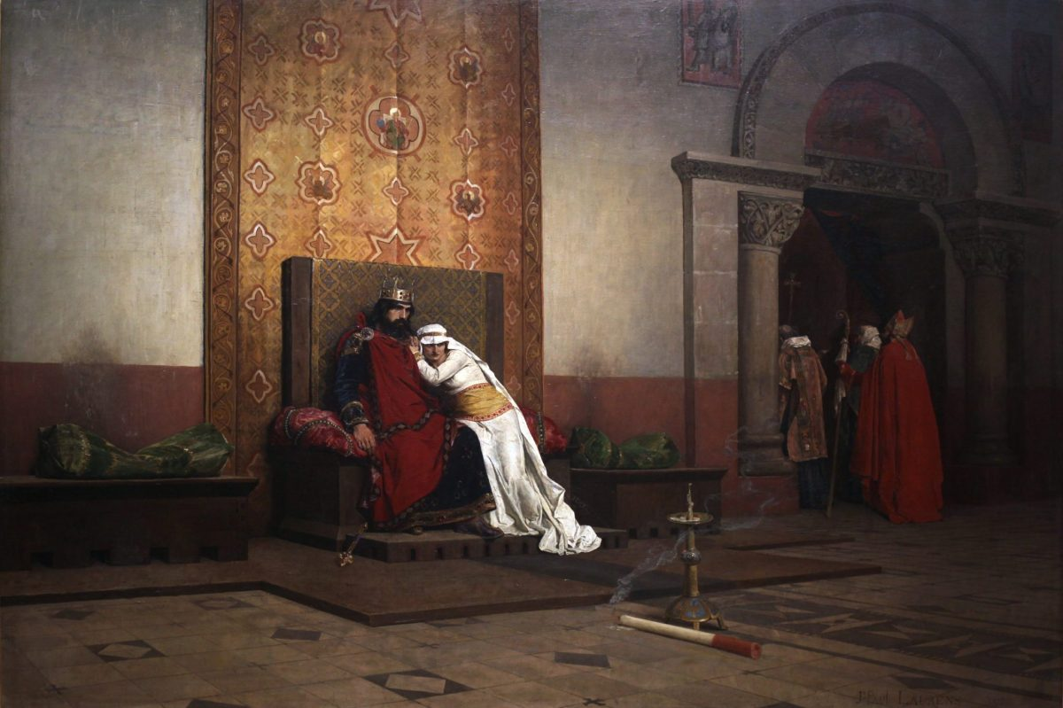 Jean-Paul Laurens: The Excommunication of Robert the Pious, 1875