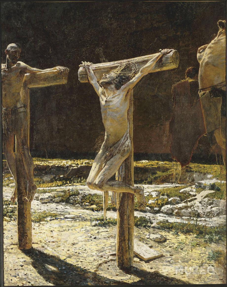 Nikolaï Gay: Calvary, 1892