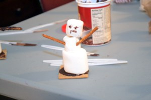 Kamikaze Snowmen Crafting